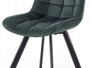 Jídelní židle K-332 - tmavě zelená