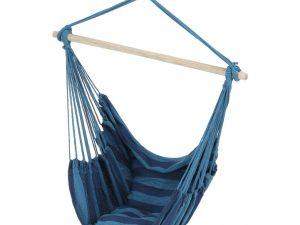 Závěsné houpací křeslo NIKOLO - modrá