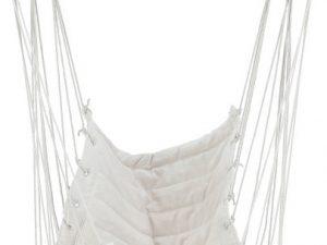 Závěsné houpací křeslo PLATO - bílá