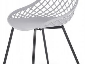 Jídelní židle K-330 - světle šedá