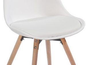 Jídelní židle Semer New - krémová / buk