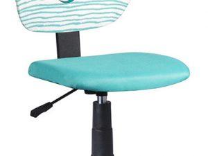 Dětská židle BLUES - látka vzor / mentolová