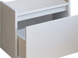 Tempo Kondela Lavice s úložným prostorem BERGI - bílá + kupón KONDELA10 na okamžitou slevu 3% (kupón uplatníte v košíku)  s úložným prostorem  - Lavice na SEDI.cz