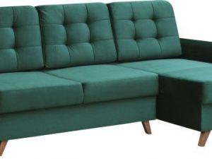 Univerzální sedací souprava MEDLIN - smaragdová/ořech
