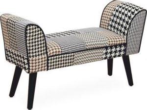 Tempo Kondela Designová lavice PEPITO NEW TYP 7 - látka patchwork + kupón KONDELA10 na okamžitou slevu 3% (kupón uplatníte v košíku)  - Lavice na SEDI.cz