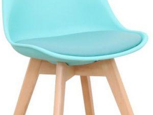 Židle BALI 2 NEW - mentolová / buk