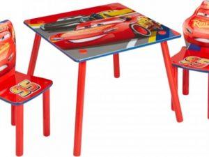 Dětský stůl s židlemi Cars Vl