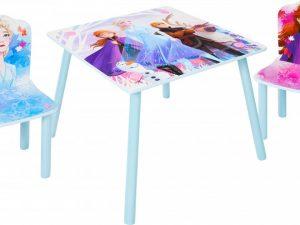 Dětský stůl s židlemi Frozen 2