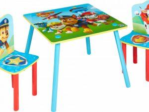 Dětský stůl s židlemi Paw Patrol