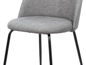 Jídelní židle - stříbrná látka CT-017 SIL2
