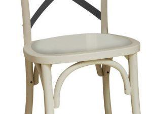 Jídelní dřevěná židle LARS II bílá