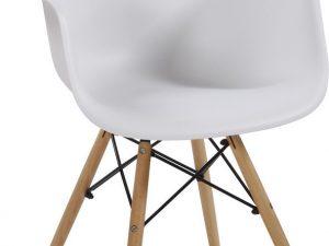 Jídelní židle SHELL II bílá