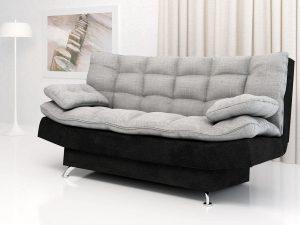 Pohovka WENUS černá/šedá