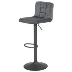 Sconto barová židle amanda šedá