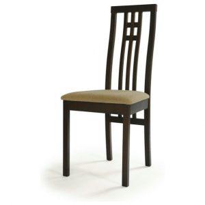 Jídelní sconto jídelní židle amanda ořech/béžová - židle na SEDI.cz
