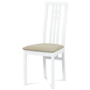 Jídelní sconto jídelní židle amanda bílá/béžová - židle na SEDI.cz
