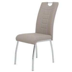 Jídelní sconto jídelní židle andrea s cappuccino - židle na SEDI.cz