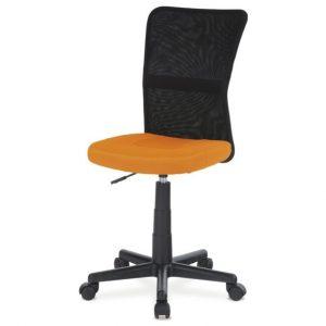 Sconto kancelářská židle bambi oranžová/černá - židle na SEDI.cz