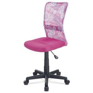 Sconto kancelářská židle bambi růžová s motivem - židle na SEDI.cz