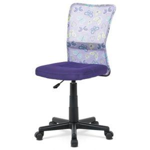 Sconto kancelářská židle bambi fialová s motivem - židle na SEDI.cz