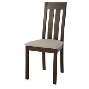 Jídelní sconto jídelní židle bela ořech/krémová - židle na SEDI.cz
