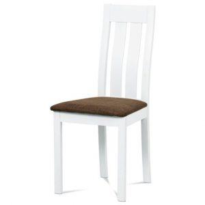 Jídelní sconto jídelní židle bela bílá/hnědá - židle na SEDI.cz