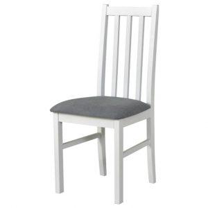 Jídelní sconto jídelní židle bols 10 šedá/bílá - židle na SEDI.cz