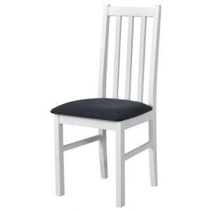 Jídelní sconto jídelní židle bols 10 tmavě šedá/bílá - židle na SEDI.cz