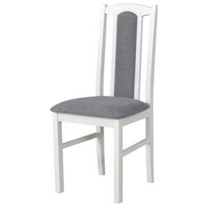 Jídelní sconto jídelní židle bols 7 šedá/bílá - židle na SEDI.cz