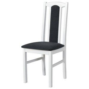 Jídelní sconto jídelní židle bols 7 tmavě šedá/bílá - židle na SEDI.cz