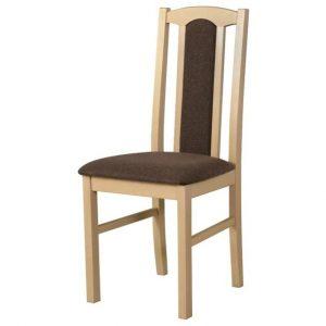 Jídelní sconto jídelní židle bols 7 hnědá - židle na SEDI.cz