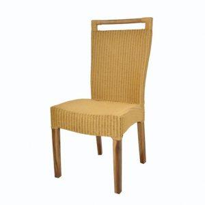 Sconto židle callista žluto-hnědá - židle na SEDI.cz