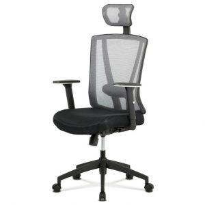 Sconto kancelářská židle edward černá/šedá - židle na SEDI.cz