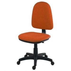 Sconto kancelářská židle elke oranžová - židle na SEDI.cz