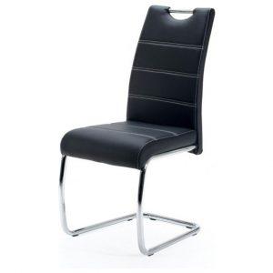Jídelní sconto jídelní židle flora s černá