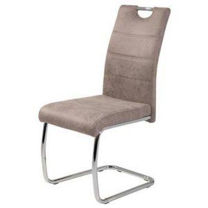 Jídelní sconto jídelní židle flora s béžová. mikrovlákno - židle na SEDI.cz