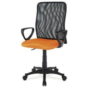 Sconto kancelářská židle fresh oranžová/černá - židle na SEDI.cz
