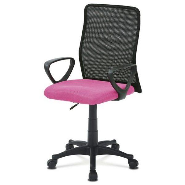 Sconto kancelářská židle fresh růžová/černá - židle na SEDI.cz