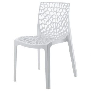 Jídelní sconto jídelní židle gruvyer bílá - židle na SEDI.cz