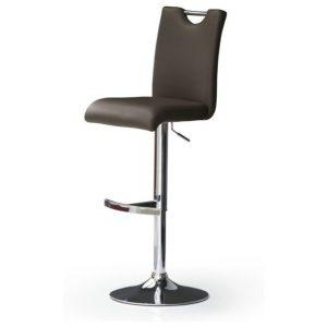 Sconto barová židle hailey hnědá/koženka - židle na SEDI.cz