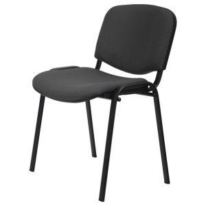 Sconto konferenční židle iso černá/šedá - židle na SEDI.cz