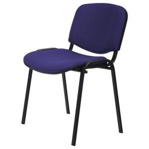 Sconto konferenční židle iso černá/modrá - židle na SEDI.cz