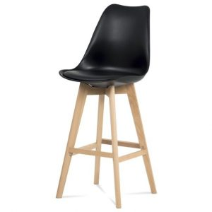 Sconto barová židle juliette černá/buk - židle na SEDI.cz