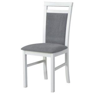 Jídelní sconto jídelní židle milan 5 bílá/šedá - židle na SEDI.cz