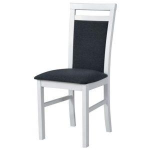 Jídelní sconto jídelní židle milan 5 bílá/tmavě šedá - židle na SEDI.cz
