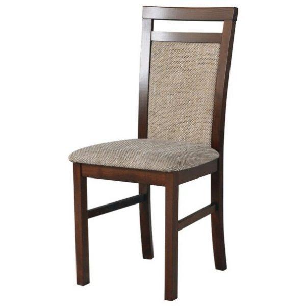 Jídelní sconto jídelní židle milan 5 hnědá/béžová - židle na SEDI.cz