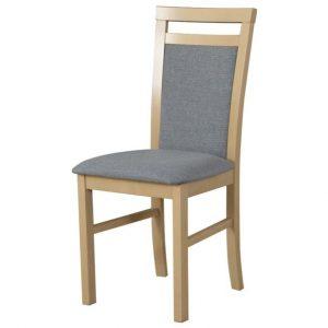 Jídelní sconto jídelní židle milan 5 béžová/šedá - židle na SEDI.cz