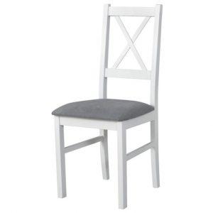 Jídelní sconto jídelní židle nila 10 šedá/bílá - židle na SEDI.cz