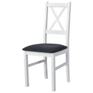 Jídelní sconto jídelní židle nila 10 tmavě šedá/bílá - židle na SEDI.cz