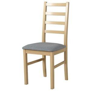 Jídelní sconto jídelní židle nila 8 světle šedá/dub sonoma - židle na SEDI.cz